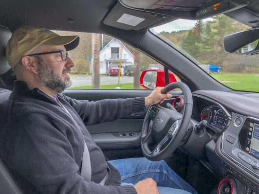 Driving the 2019 Chevy Blazer RS