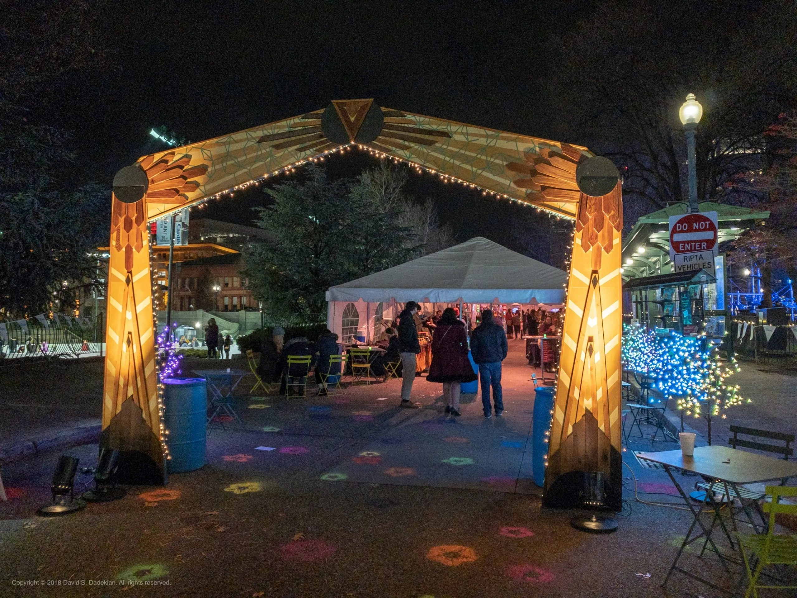 2018 PVD Winter Lights Market