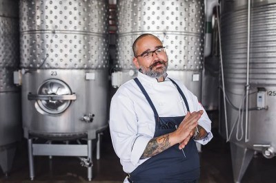 Newport Vineyards Executive Chef Andy Teixeira