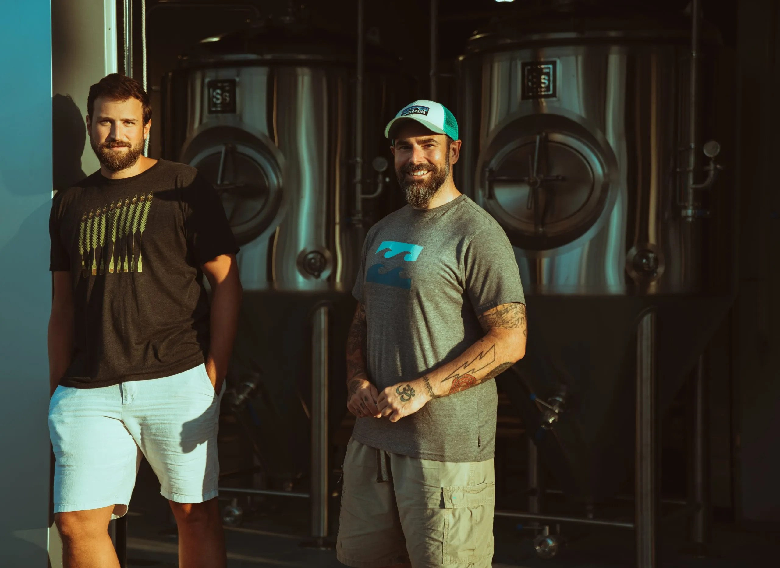 Bryan Benedict and Jeff Goodno of Moniker Brewery