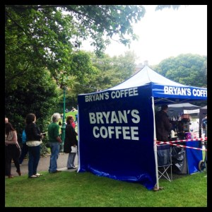Bryans Coffee - Clearly Popular !!