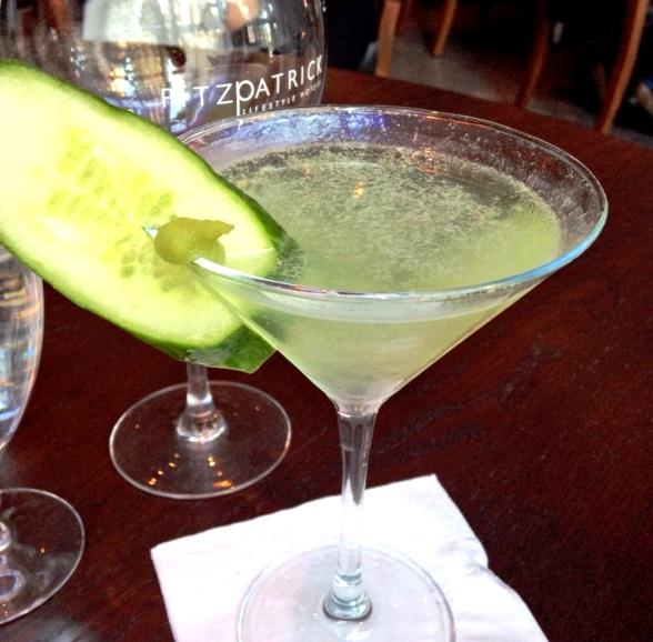 Cucumber & Wasabi Martini