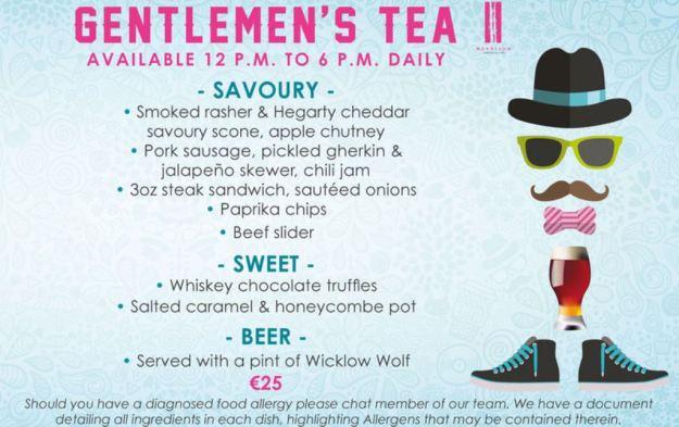 Gentleman's Tea