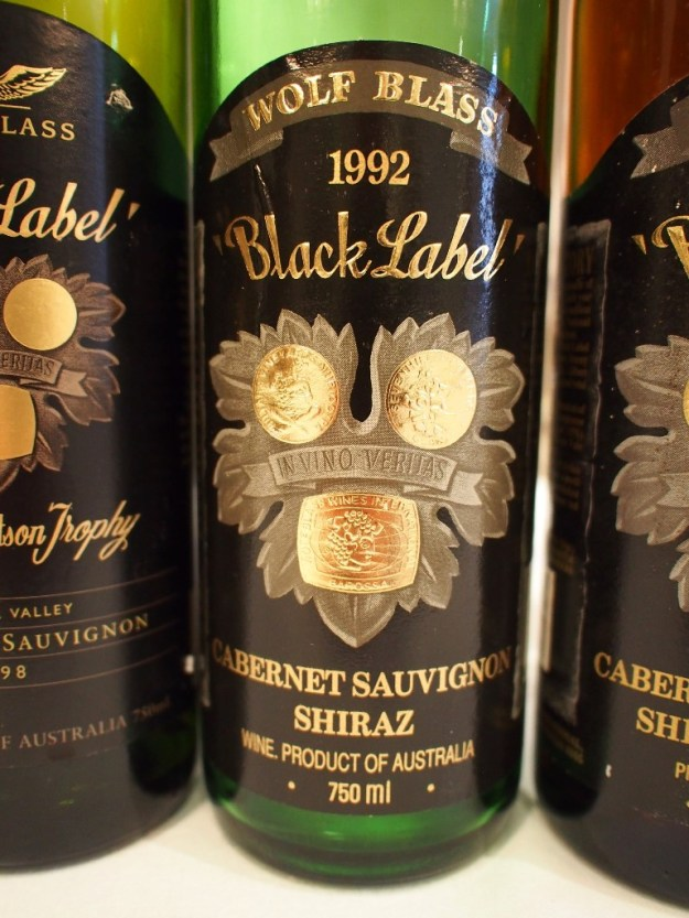 The 1992 Black Label Wolf Blass