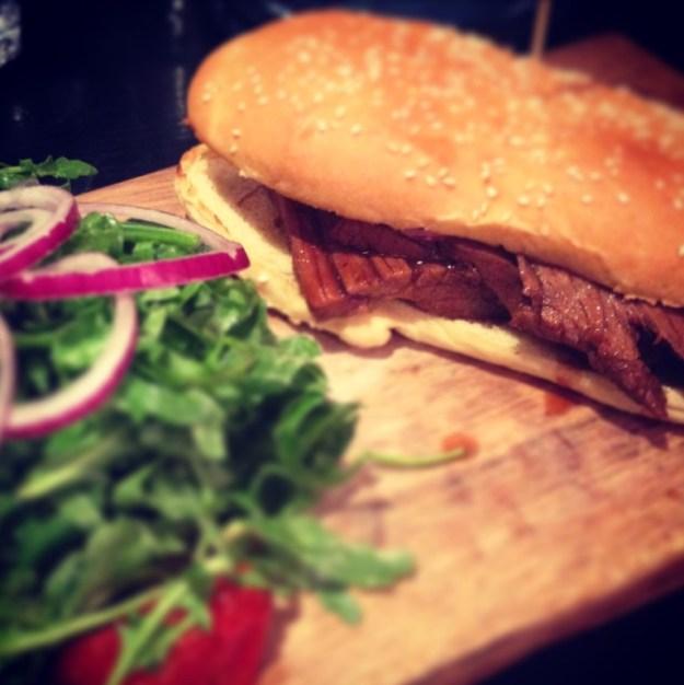 Angus Beef Brisket Sandwich