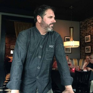 Michael Crouch, the talented chef and creator of the Death Row Dinner. | Photo by Steve Coomes