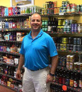 Todd Antz at Keg Liquors
