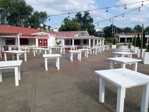 The patio at Red Barn Kitchen.  | Photo by Steve Coomes