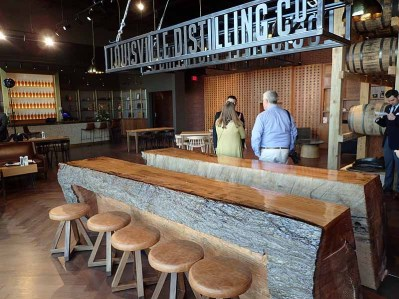 The tasting room at Angel's Envy Distillery. | Photo by Steve Coomes