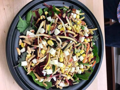 The Powerhouse salad will make eating healthfully no challenge at all. | Photo by Steve Coomes