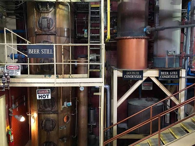 The heart of Four Roses' distillery in Lawrenceburg, Ky.