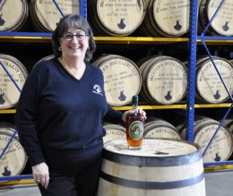 First pick for Pam! Michter's master distiller, Pam Heilmann, by her first special release, 10-year old rye.