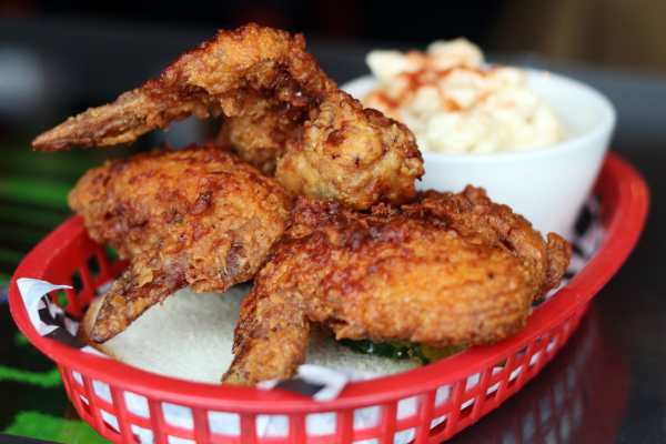 Hot Chicken at Sisters and Brothers
