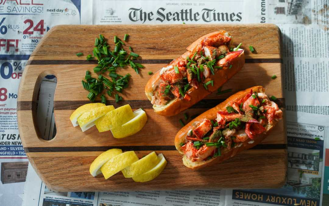 Celebrate National Seafood Month with This Bomb Lobster Roll