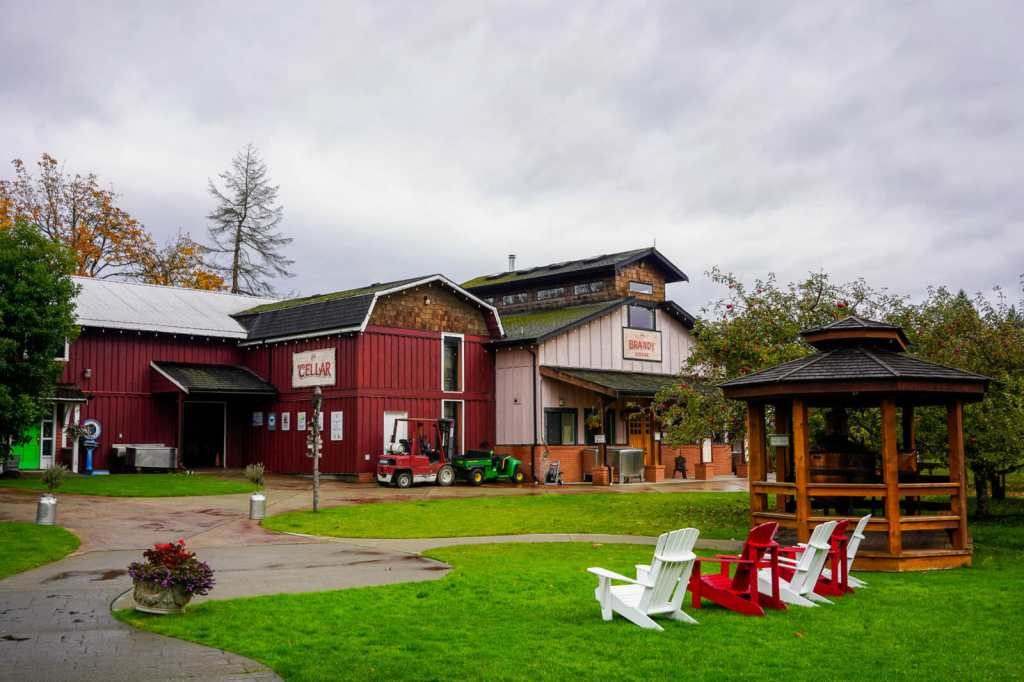 Merridale Cider in Cowichan, BC