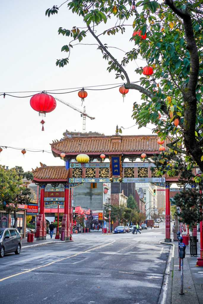 China Town in Victoria, BC