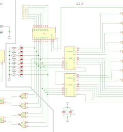 schematic of the alu [ 2854 x 1962 Pixel ]