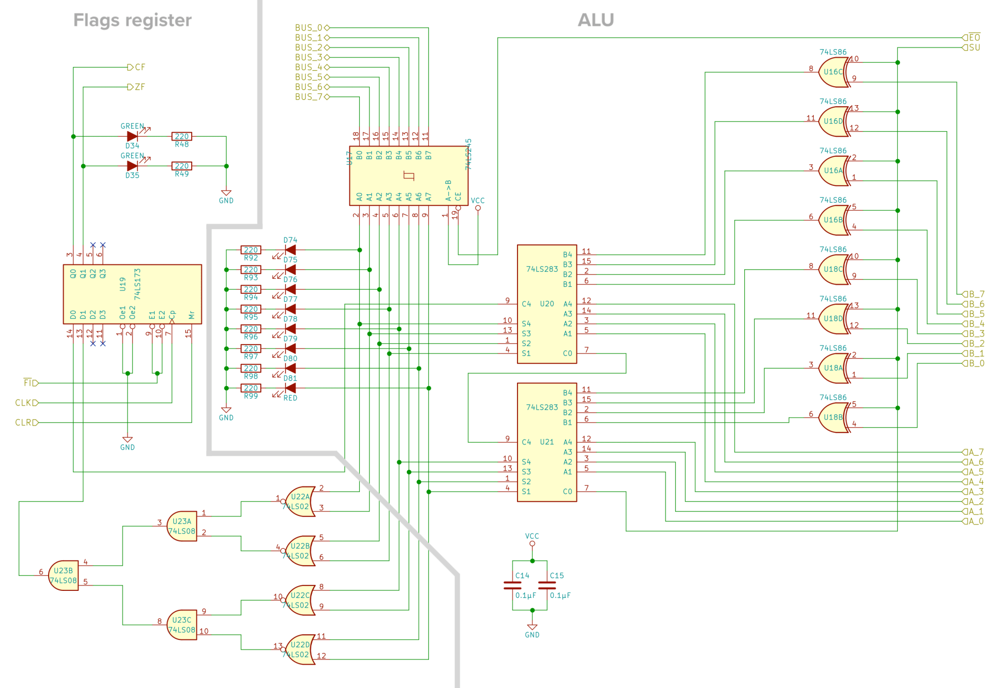 hight resolution of schematic of the alu