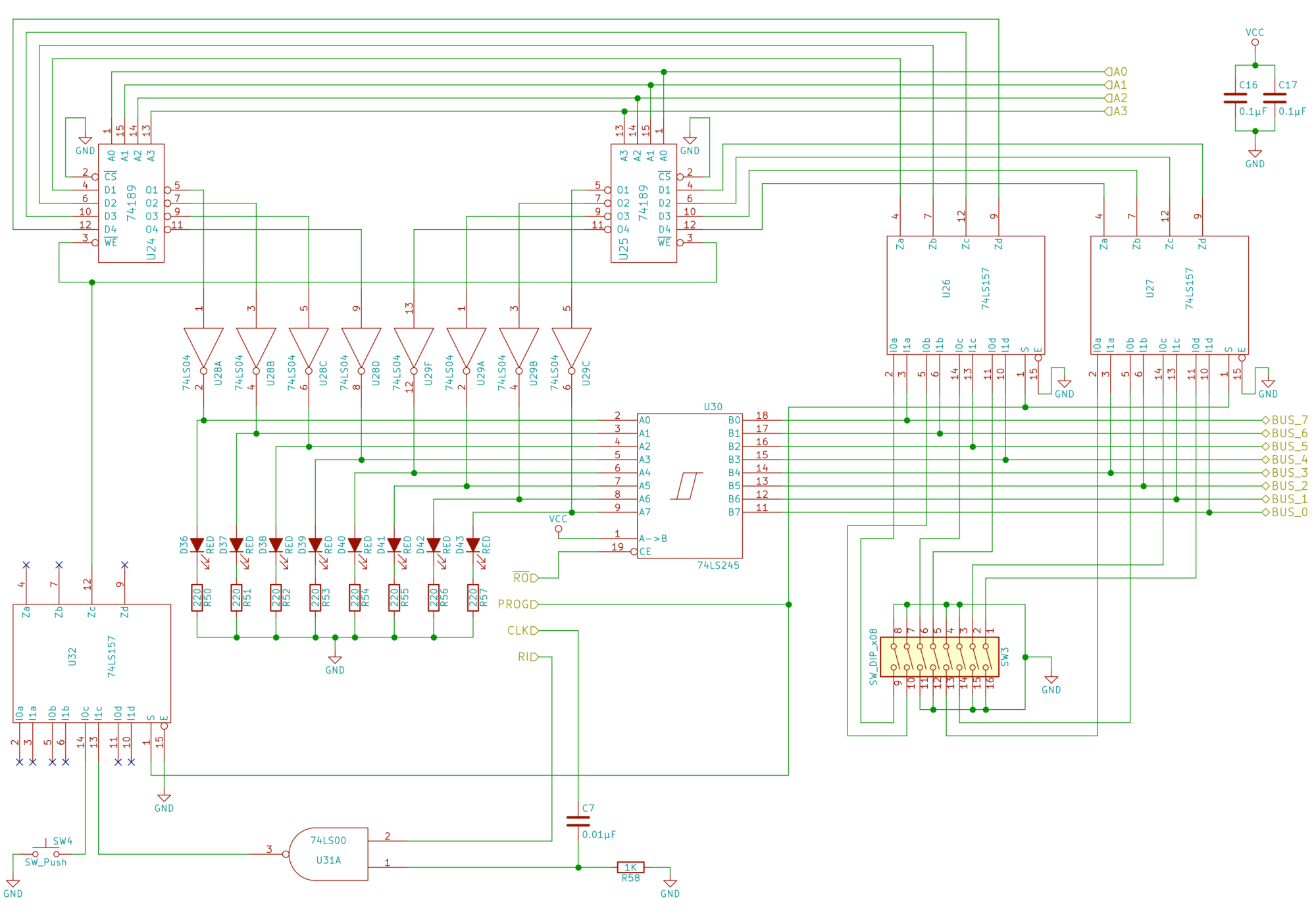 hight resolution of schematic of the ram module