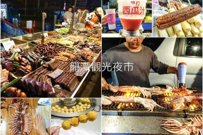 桃園美食|龍潭觀光夜市 來迺夜市吃銅板美食,夜市小吃美食總整理