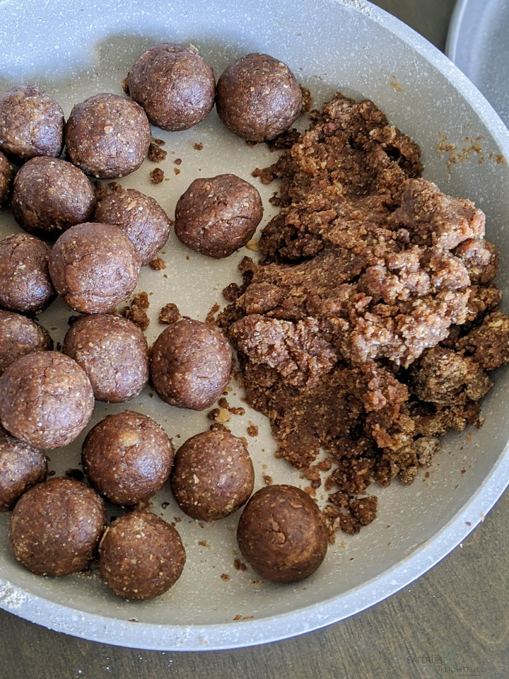 Chocolate Oatmeal Ball 4