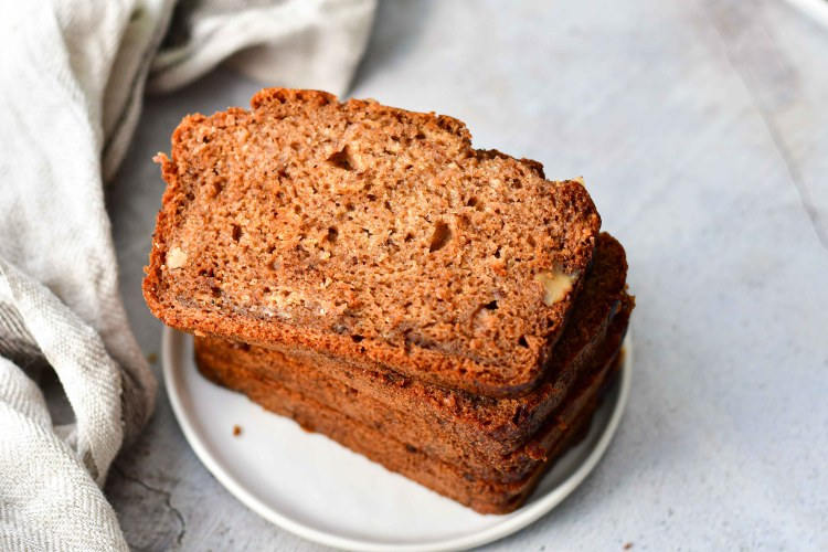 Healthy Banana Nut Bread 9