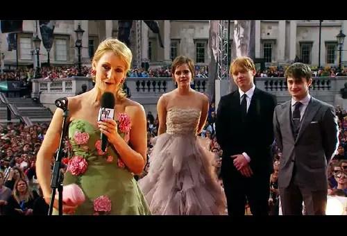 Premiere Harry Potter 7