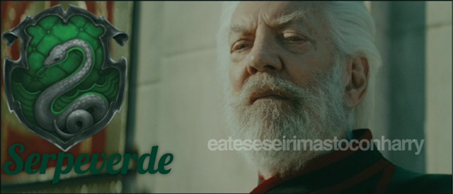 Presidente Snow Serpeverde