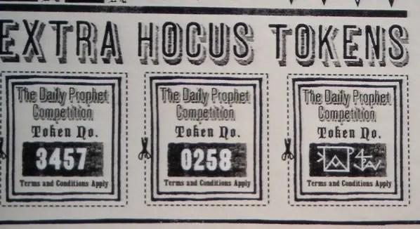gazzetta del profeta hocus tokens