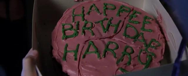 Hagrid, torta per Harry