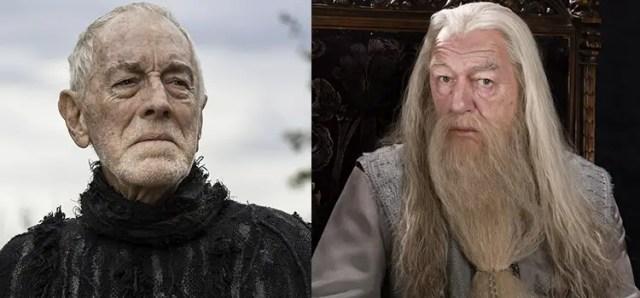 Game of Thrones e Harry Potter a confronto: il Corvo con Tre Occhi e Albus Silente