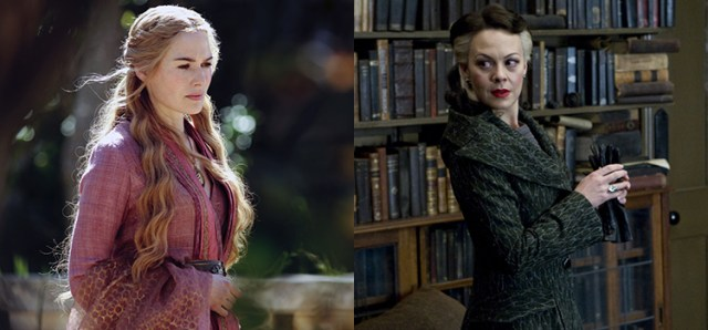 Cersei Lannister in Game of Thrones comparata con Narcissa Malfoy