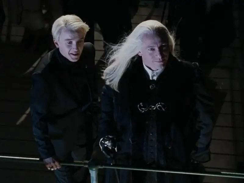 Lucius e Draco Malfoy