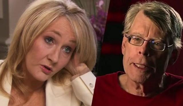 JK Rowling e Stephen King