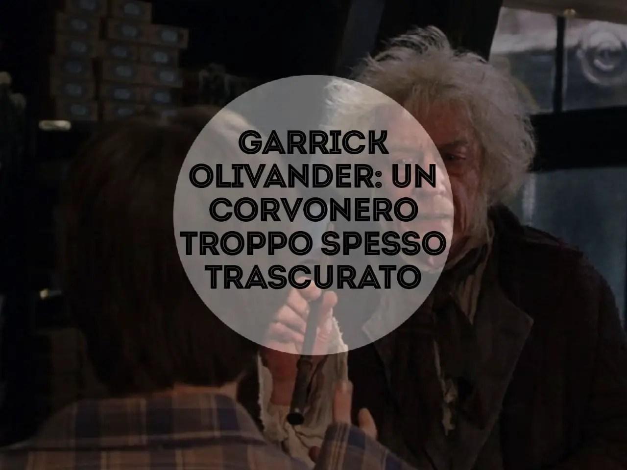 Olivander dà a Harry una bacchetta
