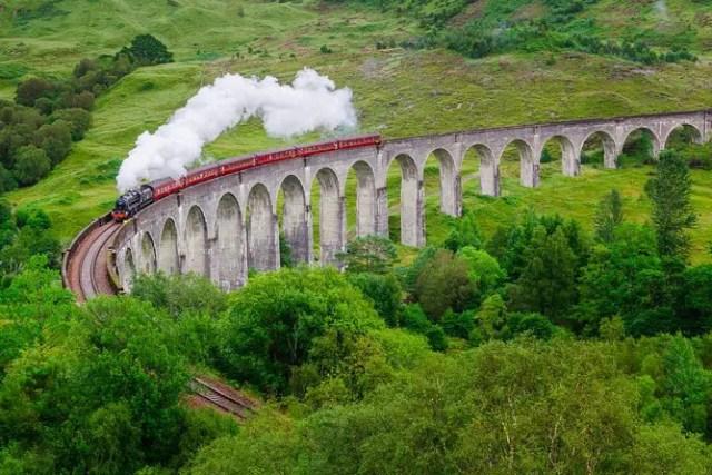 Location Hogwarts Express