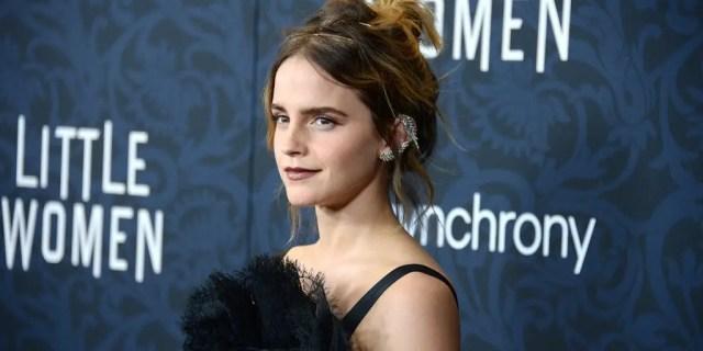 Emma Watson alla première di Piccole Donne