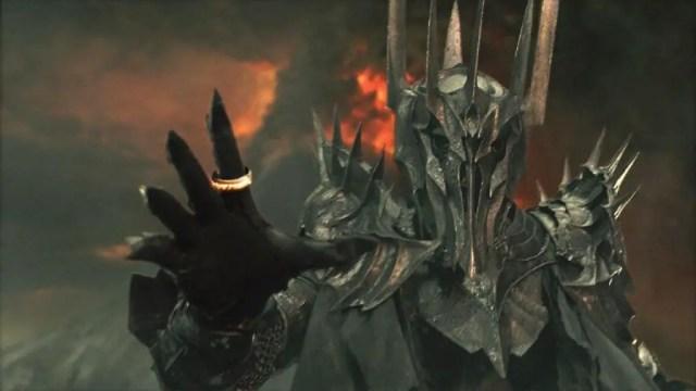 sauron, signore oscuro del signore degli anelli