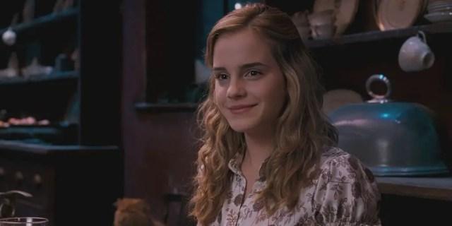 hermione sorridente