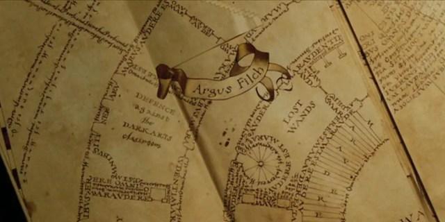 come la mappa del malandrino registra le presenze nel castello?