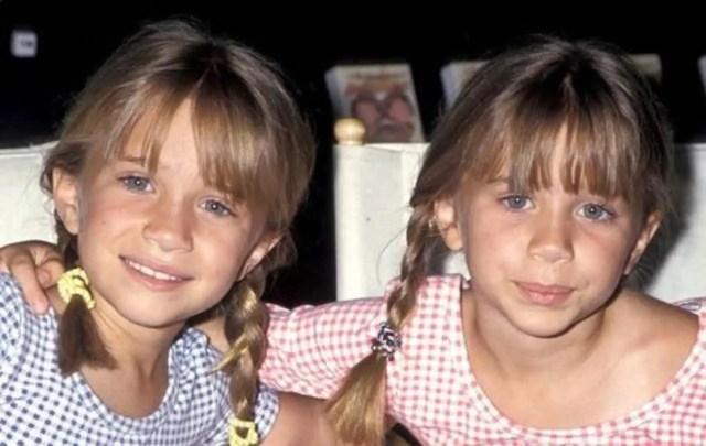Le gemelle Olsen da bambine