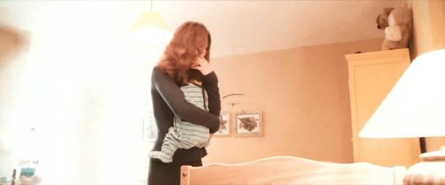 Lily mentre prova a proteggere Harry