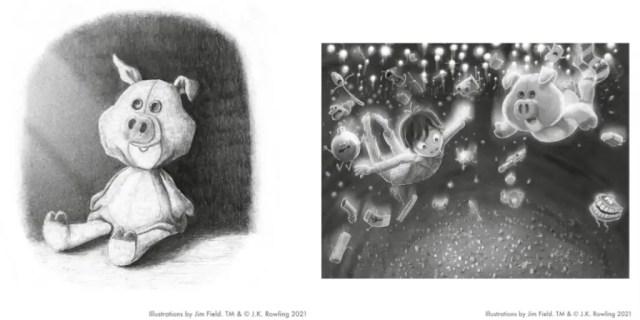Maialino di Natale Illustrazioni