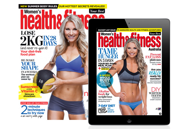 Women's Health & Fitness subscription - Christmas gift ideas - Women's Health & Fitness