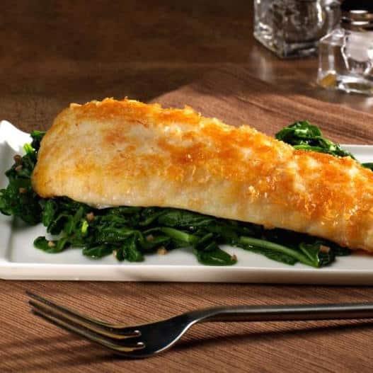 Crusted Flounder Potato Recipe