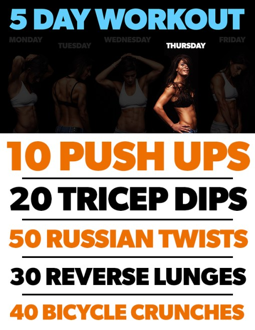 5-day-workout-thursday-infographic