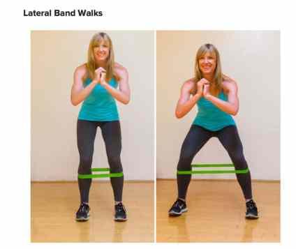 lateral-band-walks
