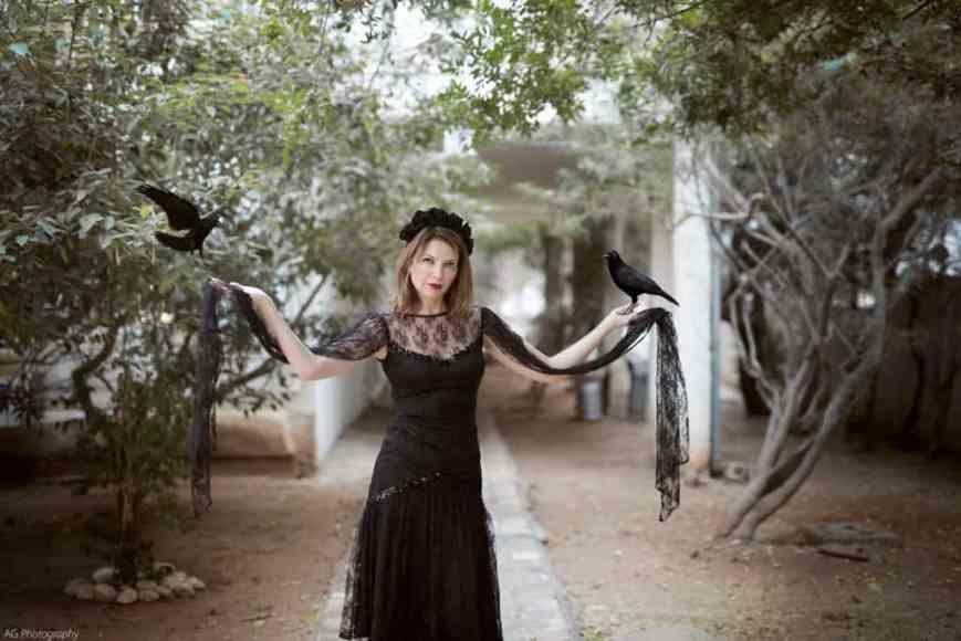 eat fly dress by Yuliah Vine  Хэллоуин