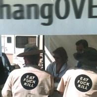 EAT FUCK KILL at Hangover Kill Bar