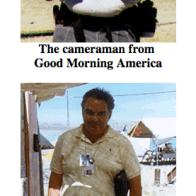 Even the media got into Eat Fuck Kill at Burning Man 1997